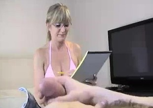 Milf Wants To See If Rumors Of His Big Load Are True