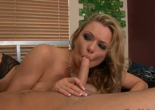 Sassy and horny Briana Banks doesnt hesitate to seduce her daughters boyfriend Seth Gamble! She enters the room with her naked large boobs and attacks him so gentle.