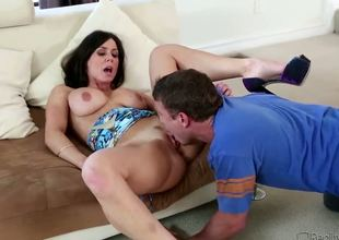 Kendra Longing is super sexy brunette milf, she has great fucking experience. This lady enjoys fucking with young guys, who are full of energy and willing to make her tight holes cumming. Mr. Pete is todays candidate.