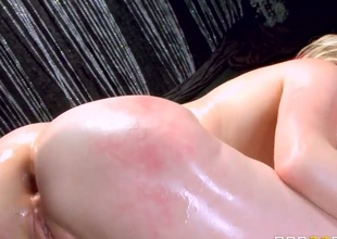 Danny D explores the depth of gorgeous Courtney Cummzs booty with his meat pole after headjob