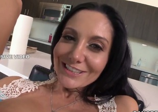 Ava Addams with bubbly butt makes her sex dreams a reality with hard dicked guy