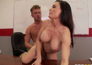 Teacher gets fucked by her student!