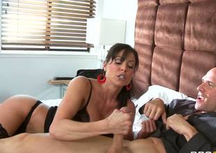 Johnny Sins is bedridden and his solely contact with the world is a smoking hot nurse Kendra Lust who loves taking care of him, especially if it means sucking that huge cock!