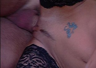 Fucking a blue-haired cougar - DBM Video