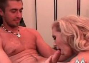 MMV Films Blonde German Milf loves good sex