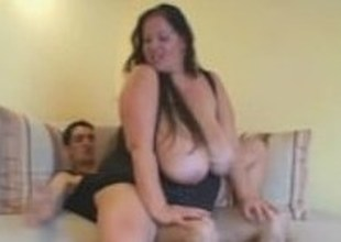 BBW MILF Wonder Tracy Receive Fucked By Young Stud