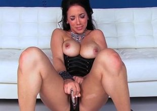 Jelena Jensen Receives Off with Dildo in Heels!