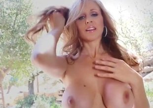 Hot  Milf Julia Ann Comes Over &, Strips
