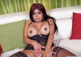 Gabby Quinteros solo masturbation